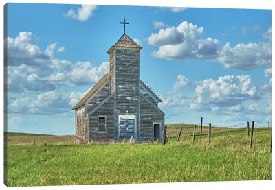 Barn Scene V Canvas Art Print