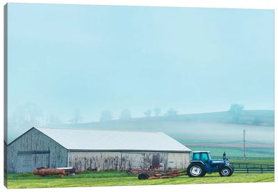Barn Scene VII by Canvas Prints by James McLoughlin Canvas Art Print