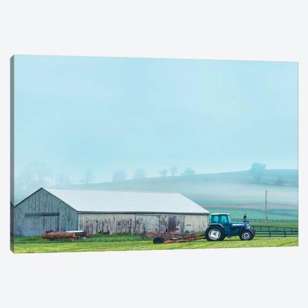 Barn Scene VII Canvas Print #JML138} by James McLoughlin Canvas Art