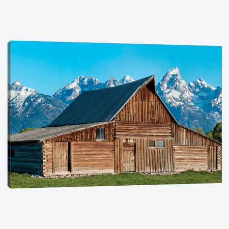Barn Scene X Canvas Print #JML140} by James McLoughlin Canvas Art Print