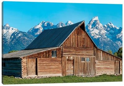 Barn Scene X by Canvas Prints by James McLoughlin Canvas Art Print