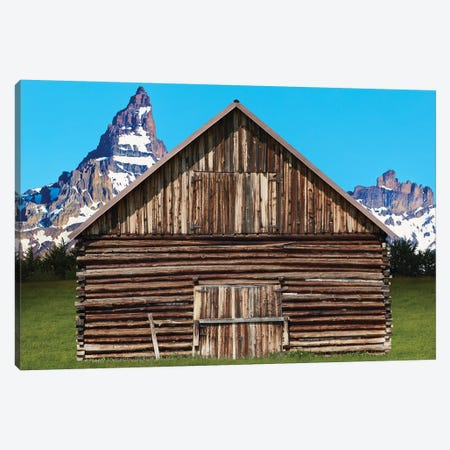 Barn Scene XI Canvas Print #JML141} by James McLoughlin Canvas Print