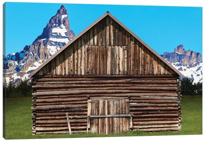 Barn Scene XI by Canvas Prints by James McLoughlin Canvas Art Print