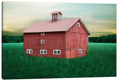 Barn Scene XII by Canvas Prints by James McLoughlin Canvas Art Print