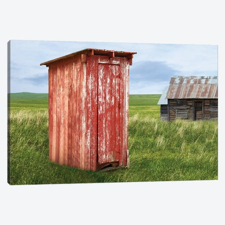 Barn Scene XIII Canvas Print #JML143} by James McLoughlin Art Print