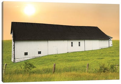 Barn Scene XIV by Canvas Prints by James McLoughlin Canvas Art Print