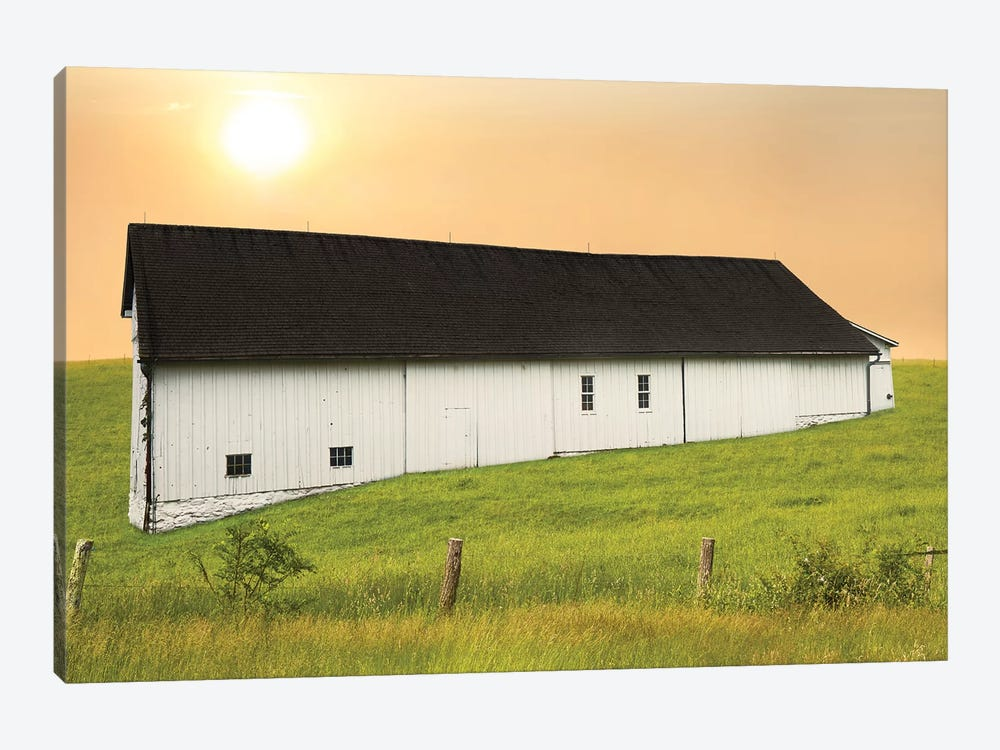 Barn Scene XIV by James McLoughlin 1-piece Art Print