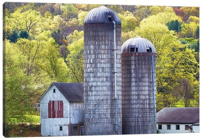 Barn Scene XV by Canvas Prints by James McLoughlin Canvas Art Print