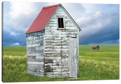 Barn Scene XVI by Canvas Prints by James McLoughlin Canvas Art Print