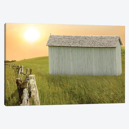 Barn Scene XVII Canvas Print #JML147} by James McLoughlin Canvas Wall Art