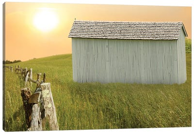 Barn Scene XVII by Canvas Prints by James McLoughlin Canvas Art Print