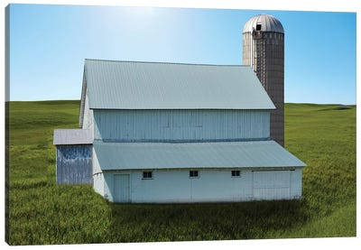 Barn Scene XVIII by Canvas Prints by James McLoughlin Canvas Art Print