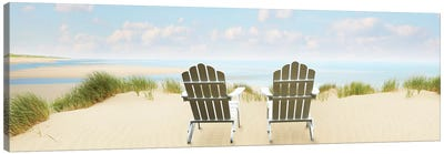 Beachscape Panorama VI by Canvas Prints by James McLoughlin Canvas Art Print