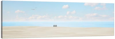 Beachscape Panorama VII by Canvas Prints by James McLoughlin Canvas Art Print
