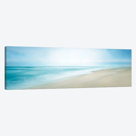 Beachscape Panorama VIII Canvas Print #JML154} by James McLoughlin Art Print
