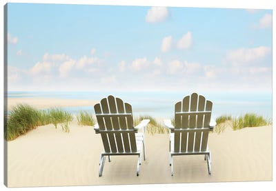 Beachscape Photo I by Canvas Prints by James McLoughlin Canvas Art Print