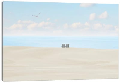 Beachscape Photo II by Canvas Prints by James McLoughlin Canvas Art Print
