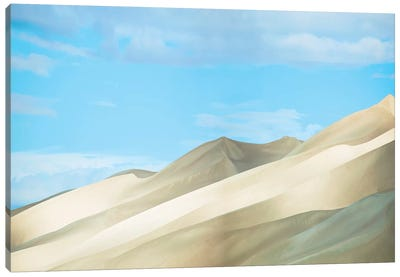 Colorado Dunes II by Canvas Prints by James McLoughlin Canvas Art Print