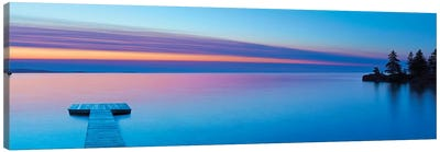 Lakescape Panorama XI Canvas Art Print