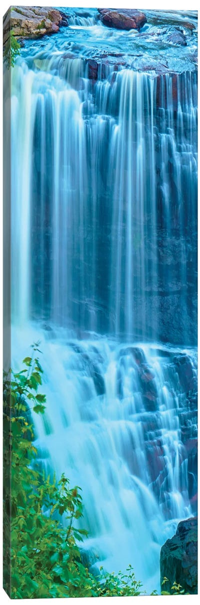 Vertical Water I Canvas Art Print