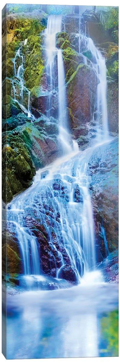 Vertical Water II Canvas Art Print