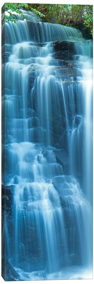 Vertical Water VI Canvas Art Print