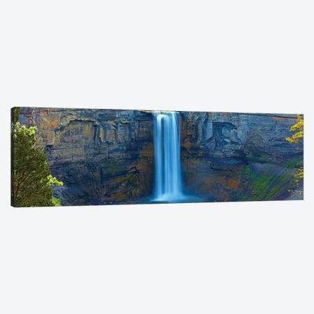 Waterfall Panorama I Canvas Print #JML200} by James McLoughlin Canvas Artwork