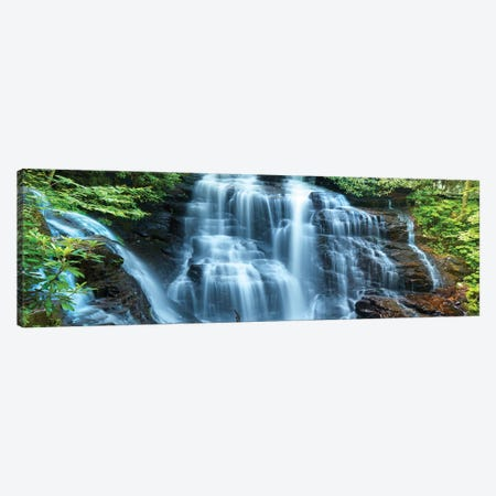Waterfall Panorama III Canvas Print #JML202} by James McLoughlin Canvas Wall Art