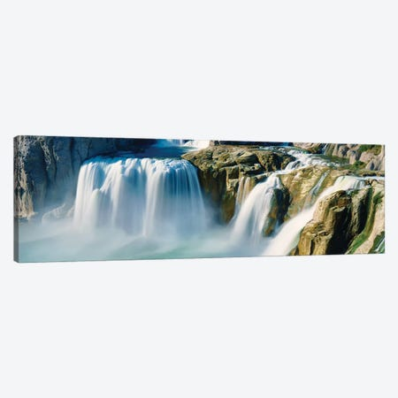 Waterfall Panorama IV Canvas Print #JML203} by James McLoughlin Canvas Art