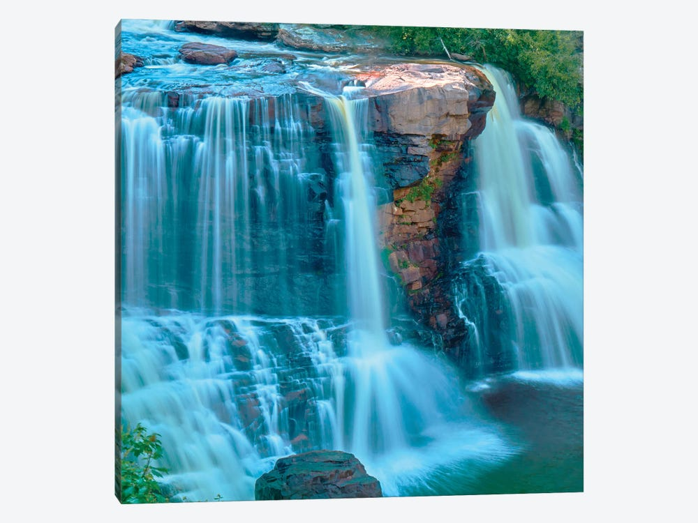 Waterfall Portrait II by James McLoughlin 1-piece Canvas Wall Art
