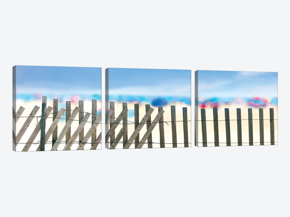 Beachscape II by James McLoughlin 3-piece Canvas Art