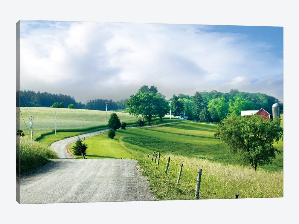 Farm & Country II by James McLoughlin 1-piece Canvas Wall Art