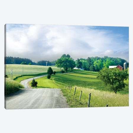Farm & Country II Canvas Print #JML24} by James McLoughlin Canvas Art