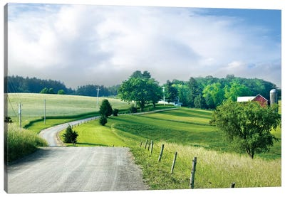 Farm & Country II Canvas Art Print