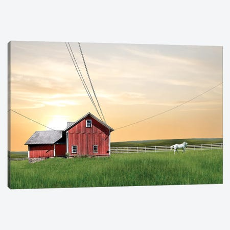 Farm & Country IV Canvas Print #JML26} by James McLoughlin Canvas Wall Art