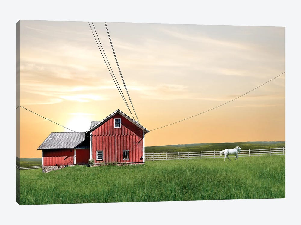Farm & Country IV by James McLoughlin 1-piece Canvas Art
