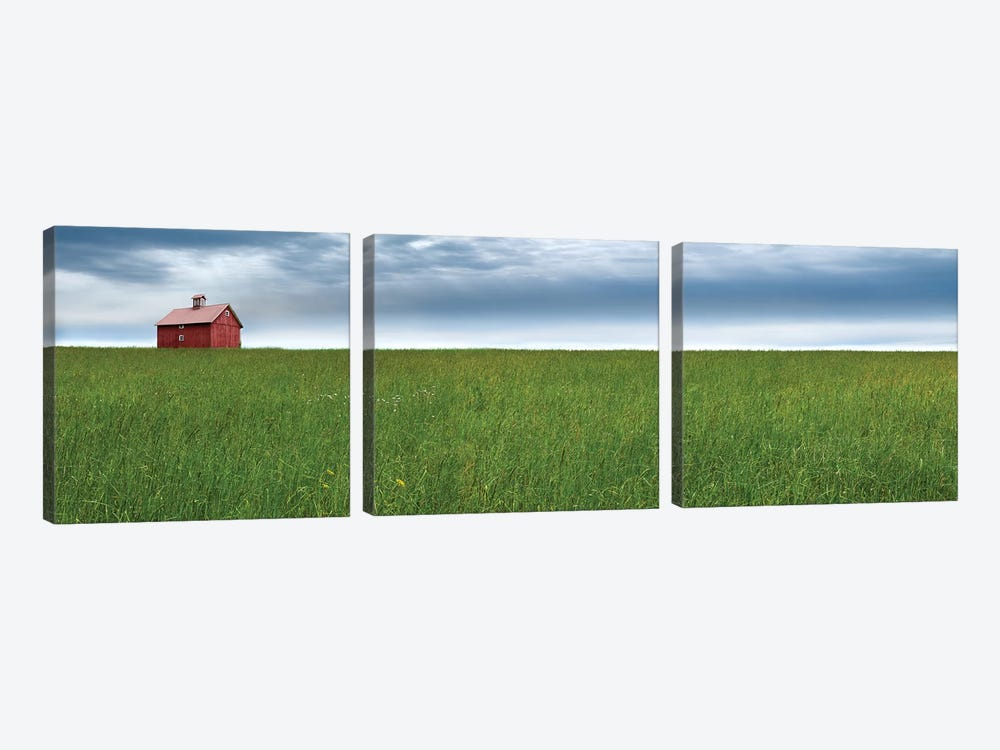 Farm & Country VI by James McLoughlin 3-piece Canvas Art Print