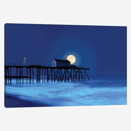 Dusk & Water I Canvas Print #JML32} by James McLoughlin Canvas Artwork