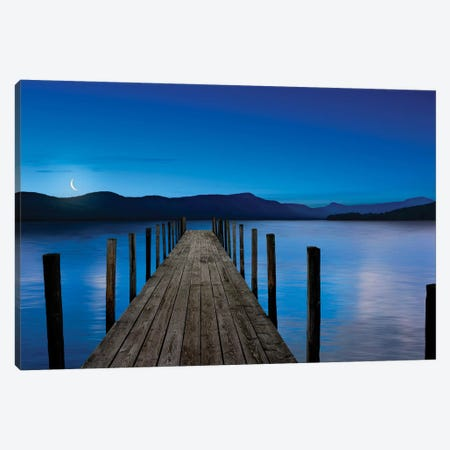 Dusk & Water V Canvas Print #JML36} by James McLoughlin Canvas Art Print