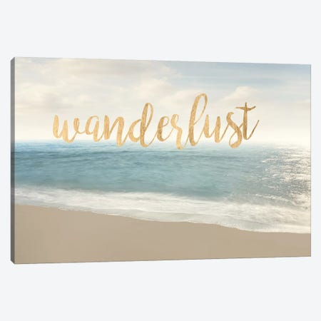 Beach Wanderlust Canvas Print #JML56} by James McLoughlin Art Print