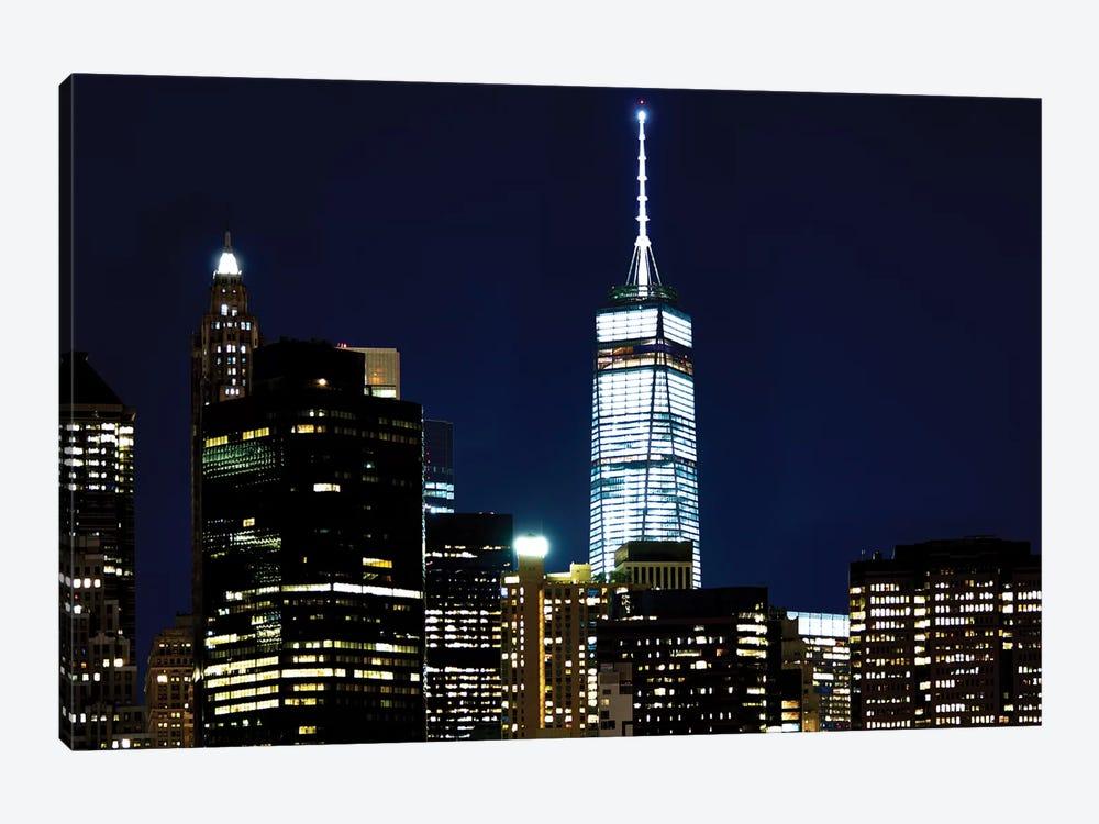 New York At Night VI by James McLoughlin 1-piece Art Print