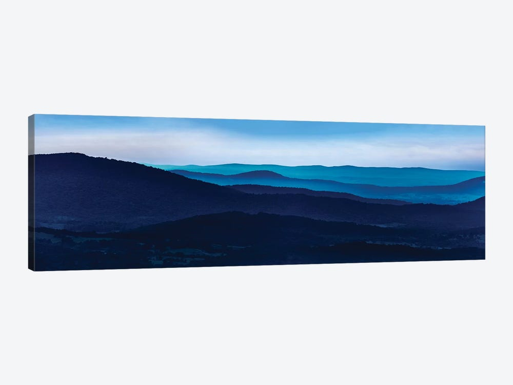 Misty Mountains I by James McLoughlin 1-piece Canvas Art
