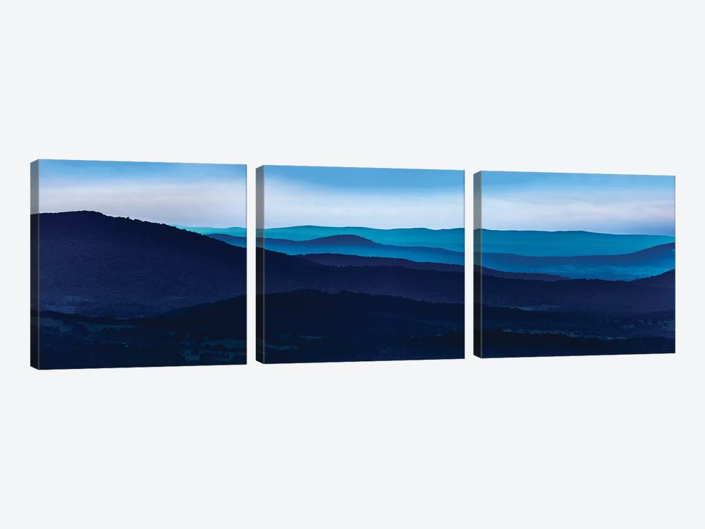 Misty Mountains I by James McLoughlin 3-piece Canvas Artwork