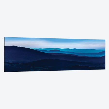 Misty Mountains I 3-Piece Canvas #JML60} by James McLoughlin Canvas Art Print