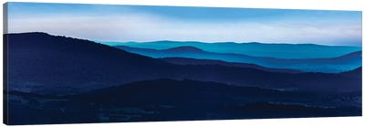 Misty Mountains I Canvas Art Print