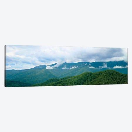 Misty Mountains II 3-Piece Canvas #JML61} by James McLoughlin Canvas Print