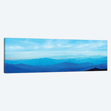 Misty Mountains III Canvas Print #JML62} by James McLoughlin Canvas Art Print