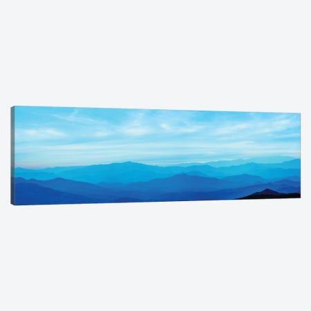 Misty Mountains III 3-Piece Canvas #JML62} by James McLoughlin Canvas Art Print