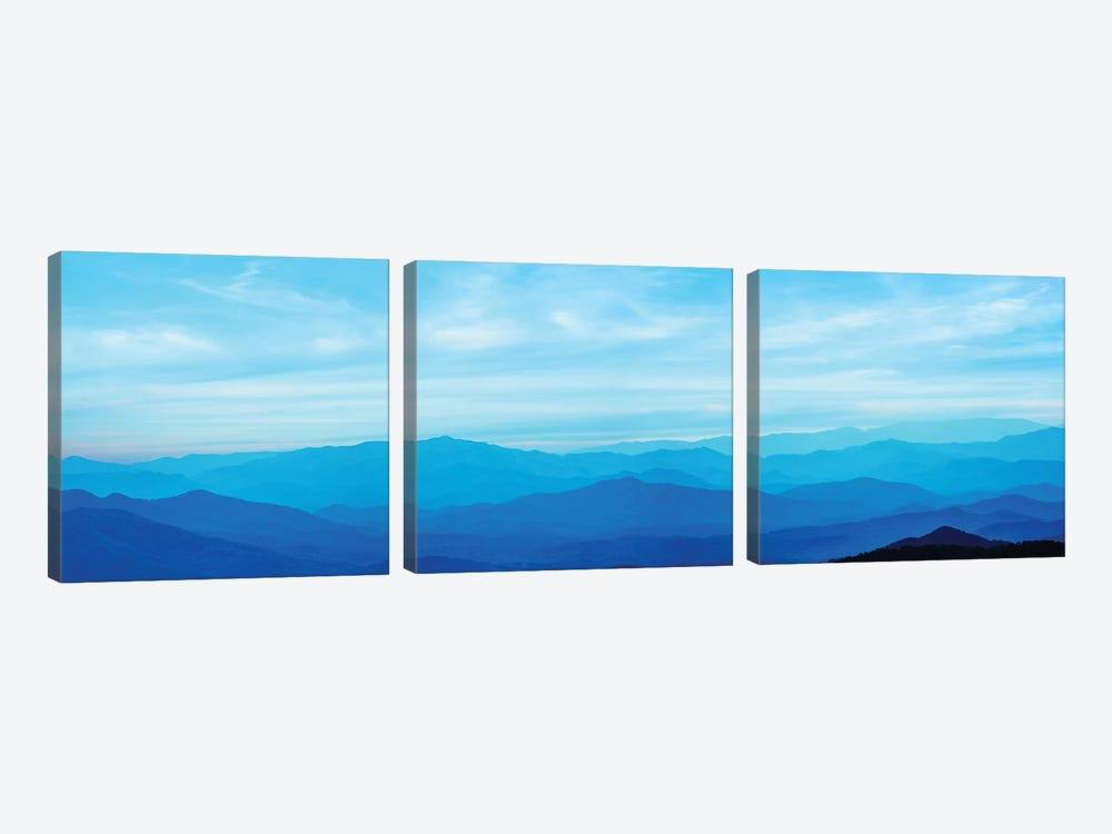 Misty Mountains III by James McLoughlin 3-piece Canvas Wall Art