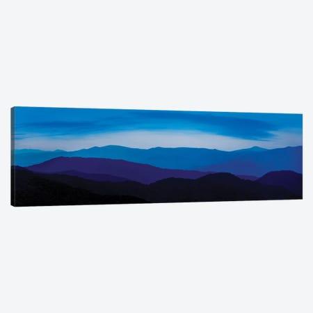 Misty Mountains IV 3-Piece Canvas #JML63} by James McLoughlin Canvas Print